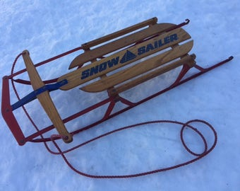 Vintage Flexible Flyer Sled in Excellent condition
