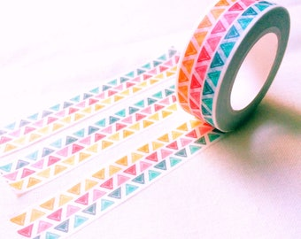 Mango cherry and green apple triangle washi tape