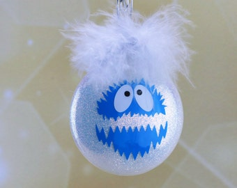 Bumble Abominable Snowman Yeti Ornament from Rudolph the Red Nosed Reindeer Burl Ives Claymation show