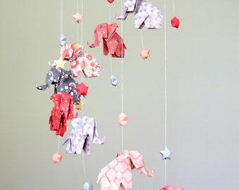 mobiles pour b b et cr ations en origami par. Black Bedroom Furniture Sets. Home Design Ideas