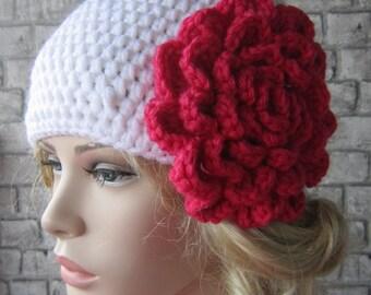 Women hat. crochet white hat, women accessory, Hats