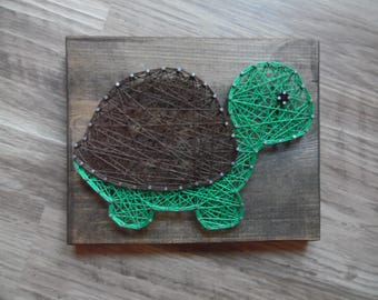 Items similar to hot air balloon wall art nursery wall for String art patterns animals