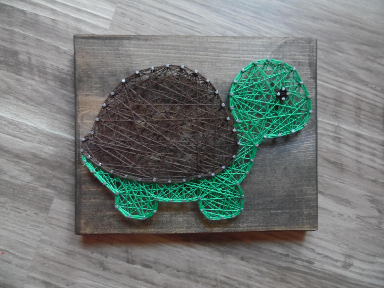 Sea Turtle Bathroom Accessories Turtle String Art Etsy