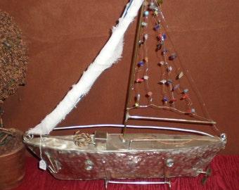 3D  metall boat