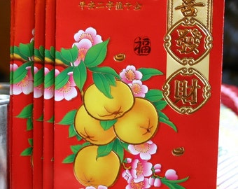 Feng Shui Red Envelopes / Set of Two