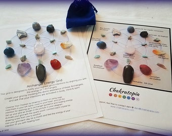 Archangel Energy Crystal Grid Kit
