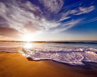 Sandy Beach Backdrop, Beach Digital Backdrop, Beach Background, Ocean Background, Ocean Backdrop, Sand Backdrop, Nature, Digital Download