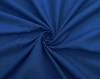"Blue Fabric, Quilt Material, Decorative Fabric, Dress Fabric, Sewing Accessories, 43"" Inch Cotton Fabric By The Yard ZBC7599H"