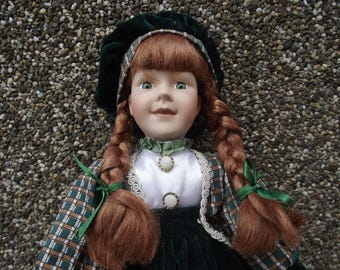 SALE!!! 75% off Very beautiful Old rarity doll porcelain doll vintage doll gift for her interior doll Give a unique  Gift