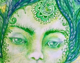 Gaia Goddess Print