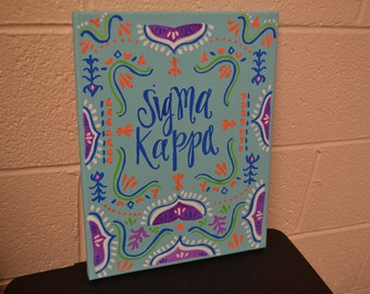 Sigma Kappa Canvas