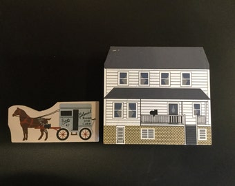 Cat's Meow Village Jonas Troyer House-Ohio Amish Series - Item #1381