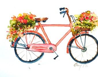 Fahrrad dekoration etsy - Dekoration fahrrad ...