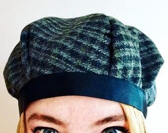 Handmade, Lined, Harris Tweed Hat