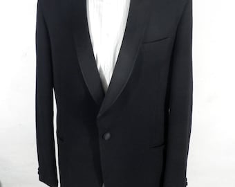 Vintage English Tuxedo Jacket  Size L