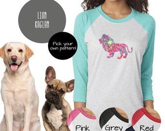 LION Raglan Tshirt