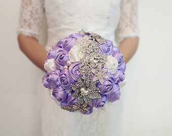 Elegant Handmade Wedding Brooch Bouquets Bridal Bouquet/Corsage