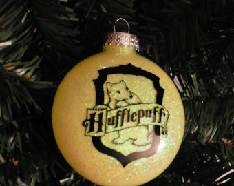Harry Potter Inspired Ornament (Hufflepuff House)