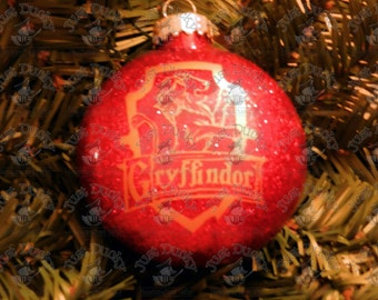 Harry Potter Inspired Ornament (Gryffindor House)