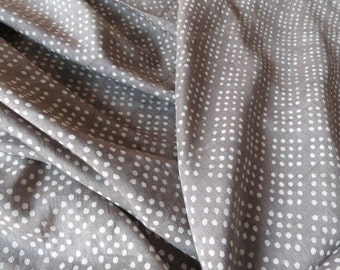 Kashish Dark Grey Cotton Silk Blend Fabric