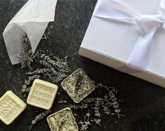 Luxury Soap Gift Box x6 Handmade Soaps