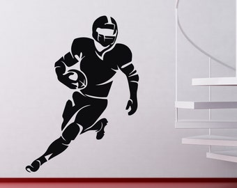 Football Player #2 - Vinyl Wall Decal