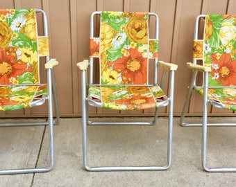 Set of Vintage Lawn Chairs
