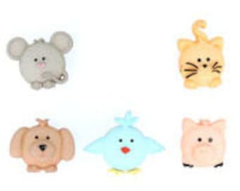 Pudgy Pets Novelty Buttons