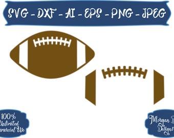 Football SVG - Sports Balls SVG - Football Outline SVG - Sports svg - Football - Files for Silhouette Studio/Cricut Design Space