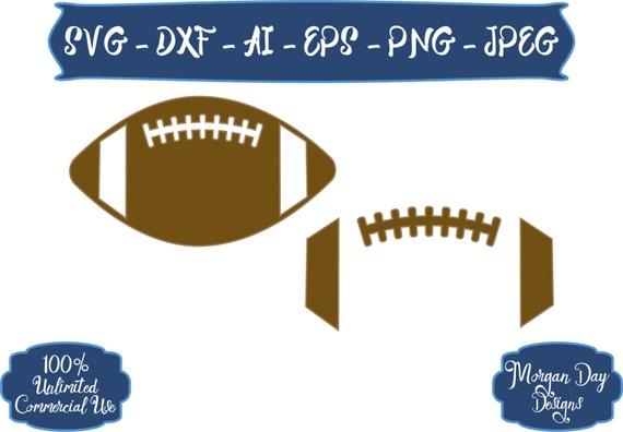 football silhouette svg outline cricut sports balls sister etsy studio space file fan biggest zoom visit