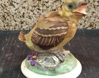Boehm Porcelain Baby Goldfinch