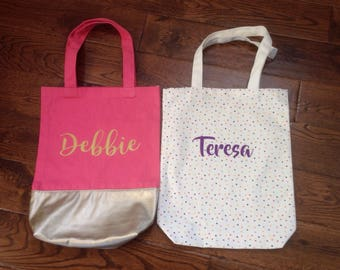 Customized/Personalized Tote Bag/Beach or Pool Bag