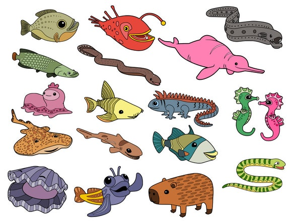 Octonauts Creatures Collection Svg Files From