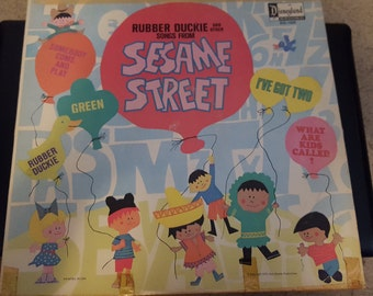 Rubber Duckie and other Songs From Sesame Street vintage Album