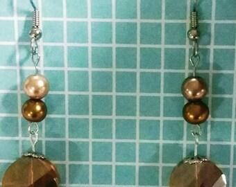 Beautiful Bronze Earrings!