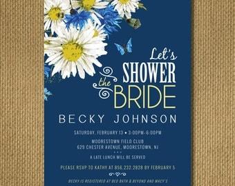 PRINTABLE | Floral Bridal Shower Invitation