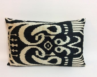 black ikat pillow case x pillows for couch