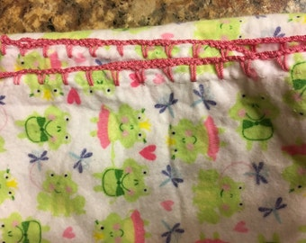 Crotched Baby Blanket