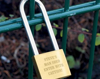 Engraved padlock, personalised wedding present, love lock - perfect gift for newly weds, engagment gift, proposal gifts, will you marry me