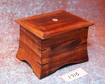 Wooden Hawaiian Koa Box