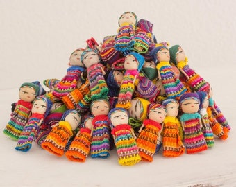 12 worry dolls 3'' long buy 24 get 24 free