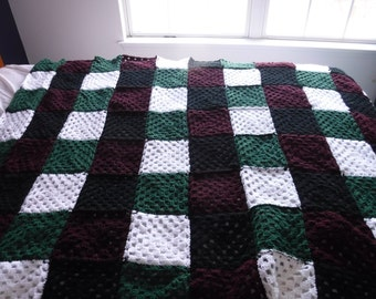 light winter blanket or a throw for the cough
