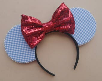 Dorothy Inspired Ear Headband