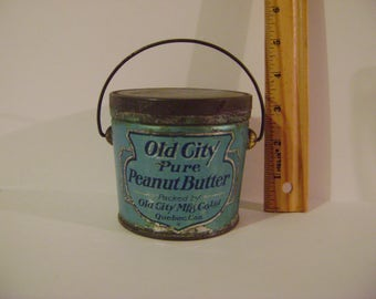 Old City Peanut Butter Tin