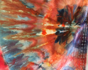 50% off Ice Dyed Tablecloth or Wall Hanging sale
