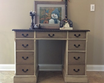 Antique entry table Etsy