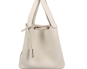 Picotin Bag (Real Togo Leather)