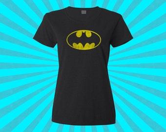 Batgirl / Batman Tshirt - Graphic Tee