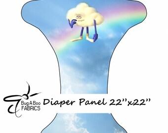 Trolls Cloud OS Pocket Cloth Diaper