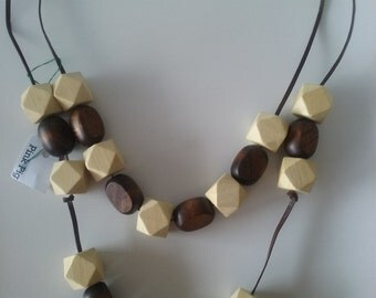 Knock On Wood Necklace